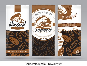 Almond packaging set