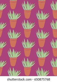 Aloe Allover Pattern
