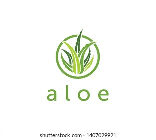 ALOE SKIN CARE LOGO SPA NATURAL ECO LOGO