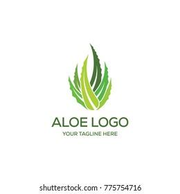 Aloe Vera Logo Creative Design