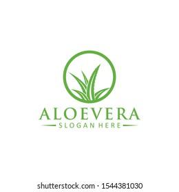 Aloe Vera logo vector icon