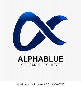 Alpha logo Vector