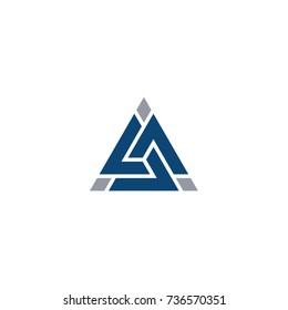 Alpha Triangle Logo