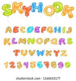 Balloon Letters Images, Stock Photos & Vectors | Shutterstock
