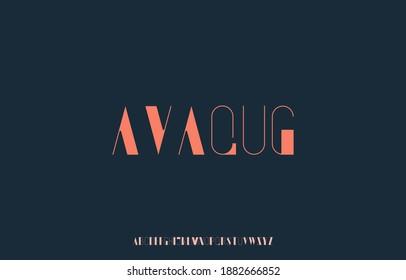 alphabet capital letter font family