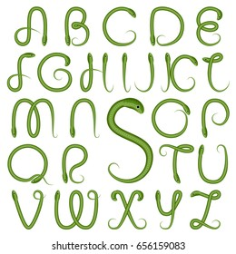 Snake Font Images Stock Photos Vectors Shutterstock