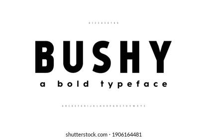 Alphabet font set design. Vector illustration typography grunge style. Fonts design.
