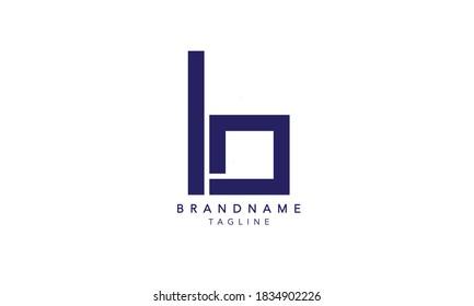 Alphabet letter Initial Monogram Logo B, B INITIAL, B letter ,