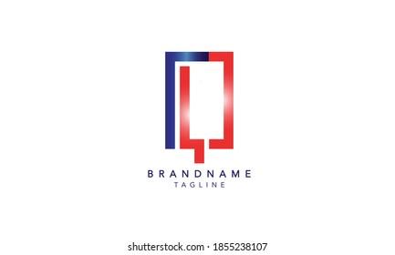 Alphabet letter Initial Monogram Logo LQ, LQ INITIAL, LQ letter ,L and Q