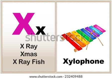 alphabet letter x clipart few similar stock vector (royalty free