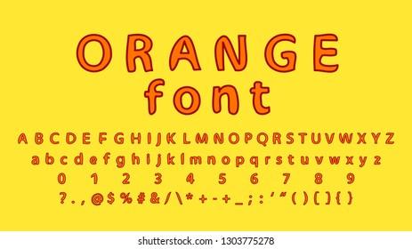 Alphabet letters. Handwritten ABC Font  Calligraphic script vector