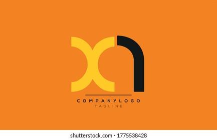Alphabet letters Initials Monogram logo XA,AX,A and X