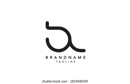 Alphabet letters Initials Monogram logo BL, LB LETTER, BL INITIAL, L and B