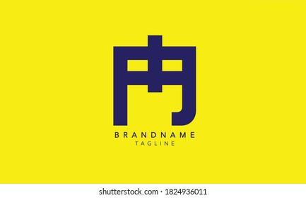 Alphabet letters Initials Monogram logo PG, PG INITIAL, GP  LOGO,P and G