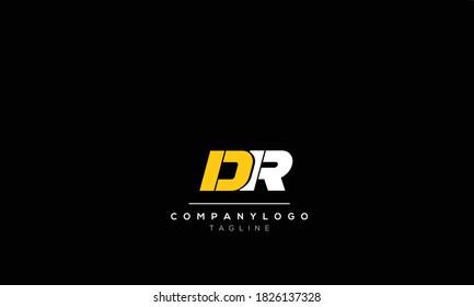 Alphabet letters Initials Monogram logo  dr, rd,d AND  r