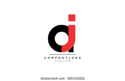 Alphabet letters Initials Monogram logo aj,ja