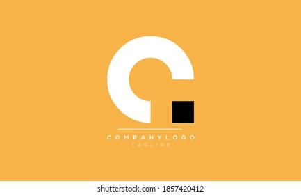Alphabet letters Initials Monogram logo CA or AC