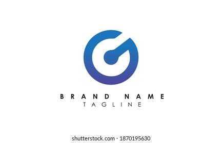 Alphabet letters Initials Monogram logo gc, cg, g and c