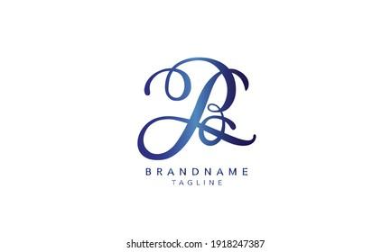 Alphabet letters Initials Monogram logo B,B INITIAL, B letter