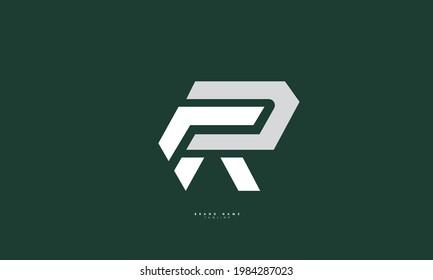 Alphabet letters Initials Monogram logo RR, R and R