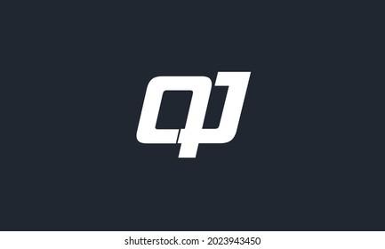 Alphabet letters Initials Monogram logo QU, UQ, Q and U