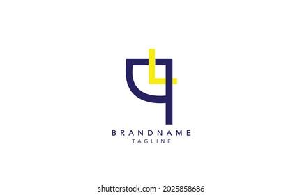 Alphabet letters Initials Monogram logo LQ,LQ INITIAL, LQ letter , L and Q