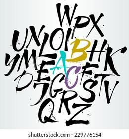 Dirty Letters Gorseller Stok Fotograflar Ve Vektorler Shutterstock