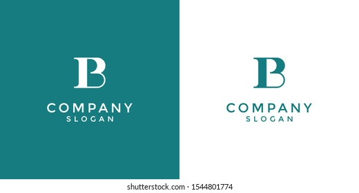 alphabet logo that combines 2 letters into one logo / symbol that is unique and original. consists of letters B and P. editable and easy to custom