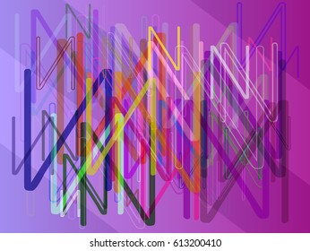 Alphabet N texture art