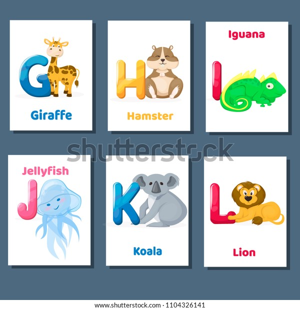 photograph regarding Abc Cards Printable titled Alphabet Printable Flashcards Vector Letter G Inventory Vector