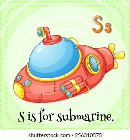 Alphabet S is for submarine