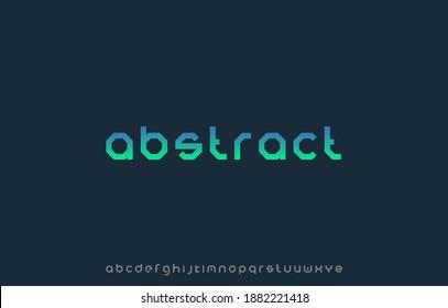 alphabet small letter font family