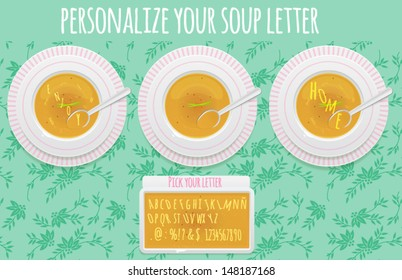 Alphabet Soup: DO IT YOURSELF