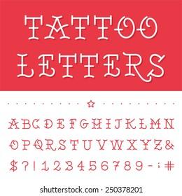 Tattoo Font Images Stock Photos Vectors 10 Off