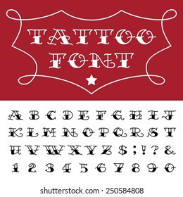 Tattoo Letters Images Stock Photos Vectors