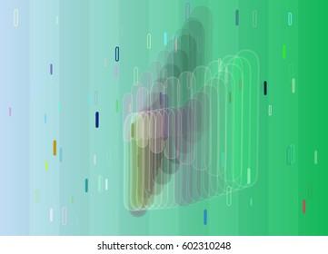 Alphabet I text texture vector