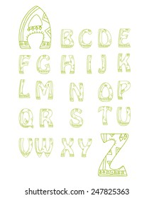 Alphabet Vector Set