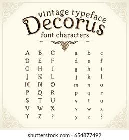 Decorative Font Images Stock Photos Vectors Shutterstock