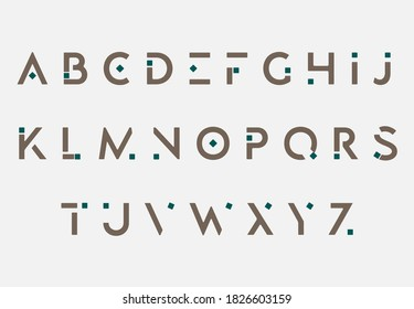alphabet A to Z letter logo