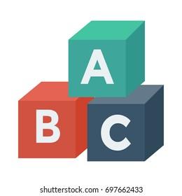 Alphabets block