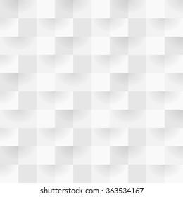 Alternating gray square shape seamless background pattern