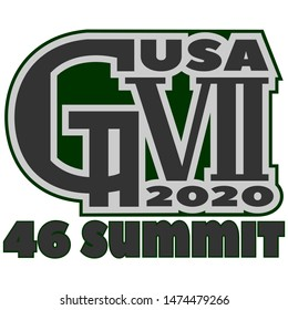 An alternative emblem of the summit of seven developed states. USA 2020
