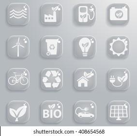 Alternative energy  simply symbol for web icons