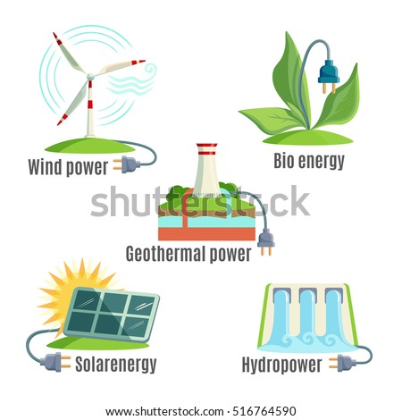 Alternative Energy Sources Set Wind Geothermal Stock