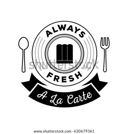 Always Fresh Food Guarantee Logo La Stock Vector Royalty Free