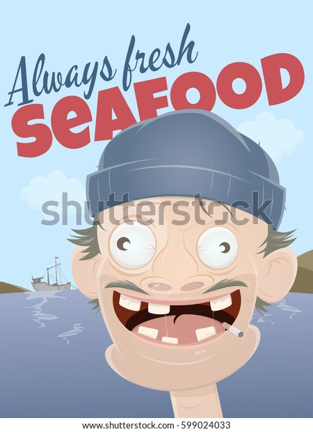 always fresh seafood with scruffy sailor