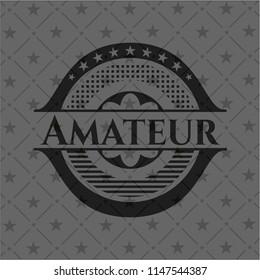 Amateur dark badge