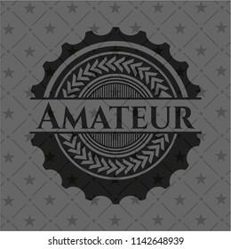 Amateur realistic dark emblem