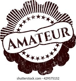 Amateur rubber texture