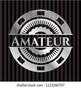 Amateur silver emblem